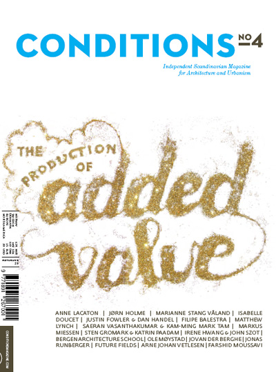 Cover of Conditions # 4