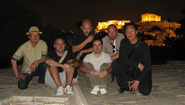 UFO members in Athens September 2010